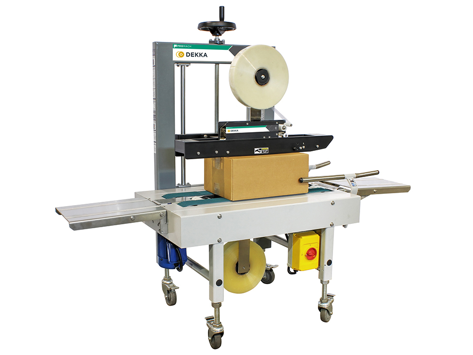 Semi Automatic Case Sealer Dekka 100